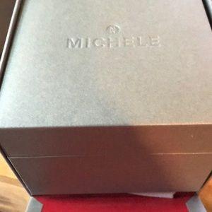 Michele Accessories - Michele Urban Mini Stainless Steel Bracelet Watch
